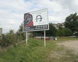 Point Marquage - Sainte-Geneviève-des-Bois - Signalétique - Panneaux sur traverses