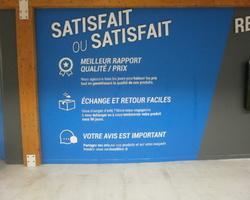 Point Marquage - Sainte-Geneviève-des-Bois - Signalétique - Lettres en relief