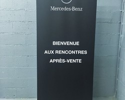 Point Marquage - Sainte-Geneviève-des-Bois - Display - Roll Up Banner