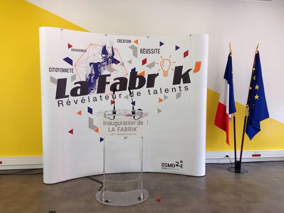 INAUGURATION DE LA FABRIK' EVRY - MANUEL VALLS