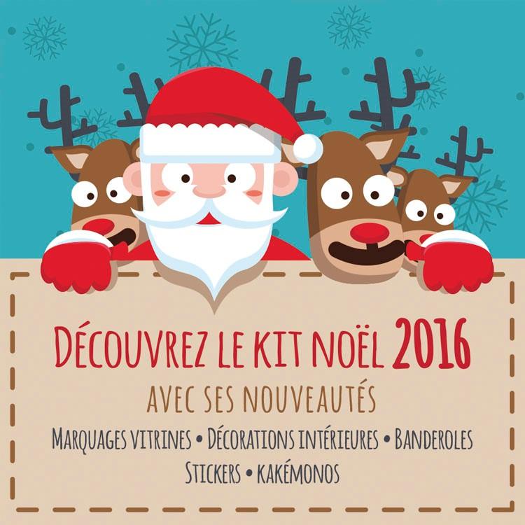 Découvrez le KIT DE NOEL 2016 avec ses nouveautés