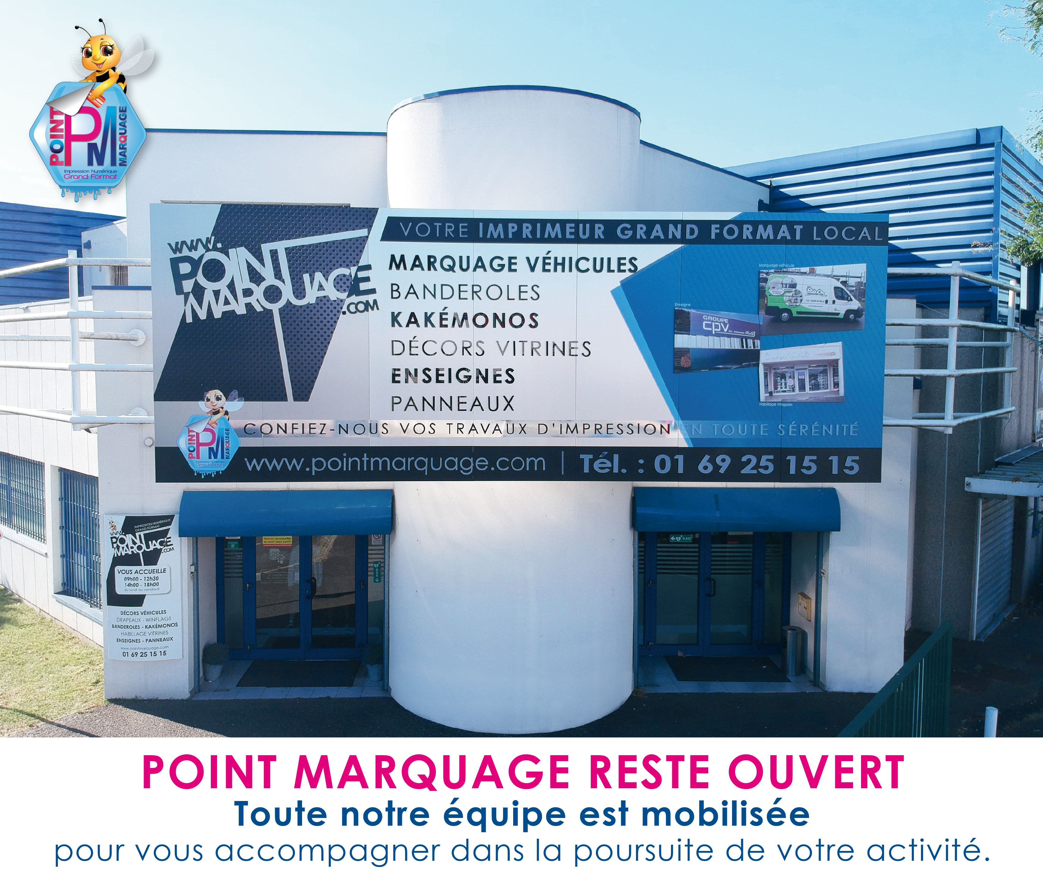 POINT MARQUAGE RESTE OUVERT